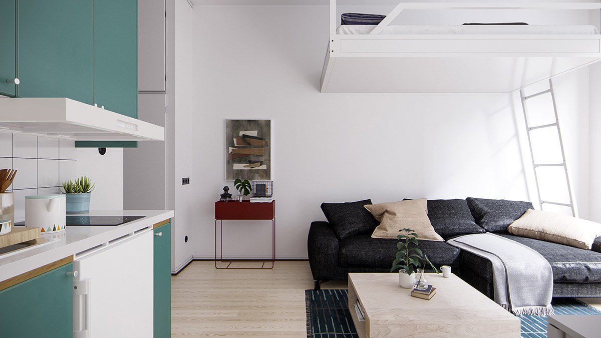 Tips to maximize space in small home